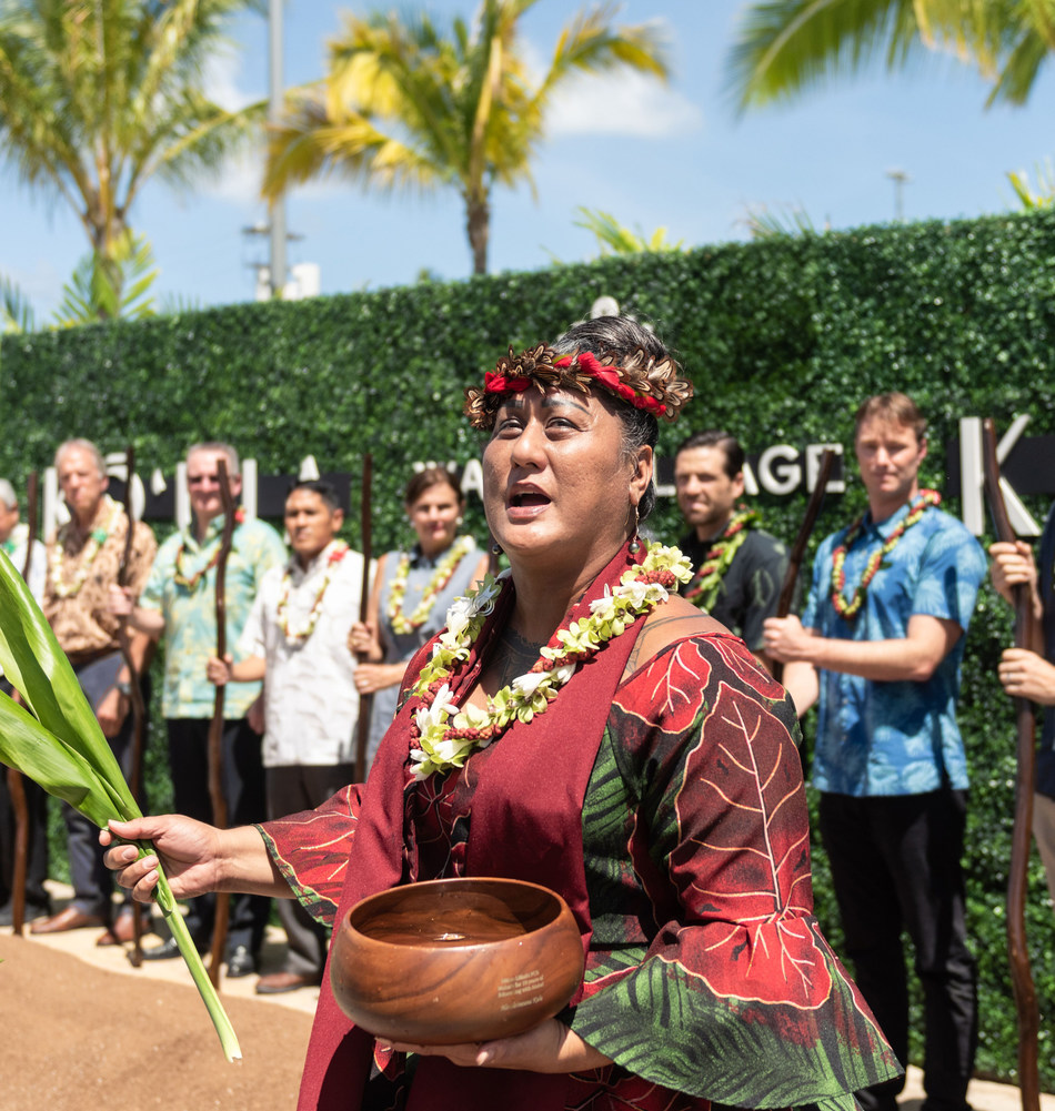 Kō'ula Groundbreaking, Ward Village®, Hawai`i. Courtesy of The Howard Hughes Corporation®