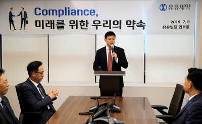 Yuyu Pharma held the campaign for enhancing corporate transparency