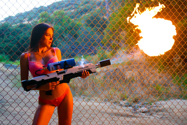 Escobar Inc Flamethrower © Escobar Inc