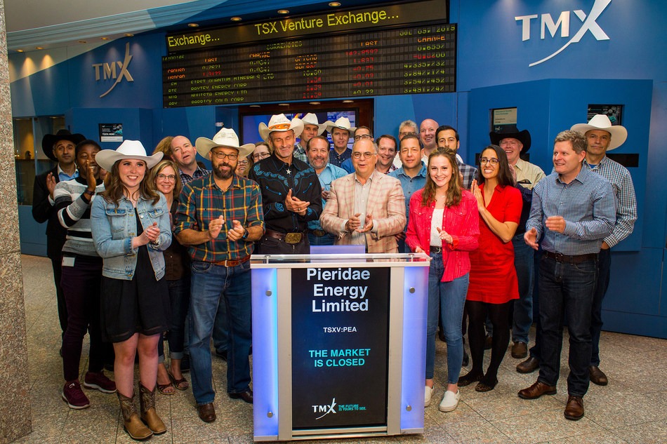 Pieridae Energy Limited Closes the Market (CNW Group/TMX Group Limited)