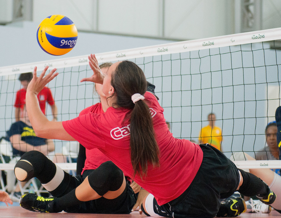 Canada will be represented by 12 women and 11 men in sitting volleyball at the Lima 2019 Parapan American Games. PHOTO: Canadian Paralympic Committee (CNW Group/Canadian Paralympic Committee (Sponsorships))