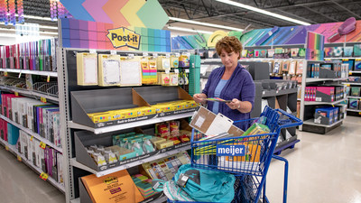 As teachers gear up for back-to-school season, Meijer is making it a little easier by offering a 15 percent discount on classroom essentials to teachers across the Midwest, its largest back-to-school discount ever. The teacher discount applies to all Meijer stores and extends all summer long and into the school year, from now through September 28.