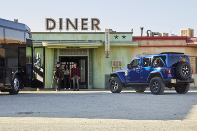 Jeremy Renner debuts new music, stars in new Jeep® brand advertising campaign launching Wednesday, July 1.