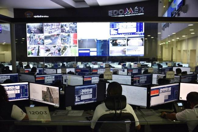 Carbyne technology operating in the Estado de Mexico Emergency Communications Center (PRNewsfoto/Carbyne)