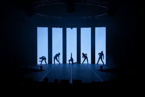 The diverse, cutting-edge entertainment options on today's cruise ships include the hip, computer enhanced dance moves of the Step One Dance Company, performing on select Holland America Line ships.