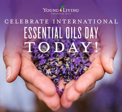 Young Living celebra la segunda edición anual del Día Internacional de los Aceites Esenciales