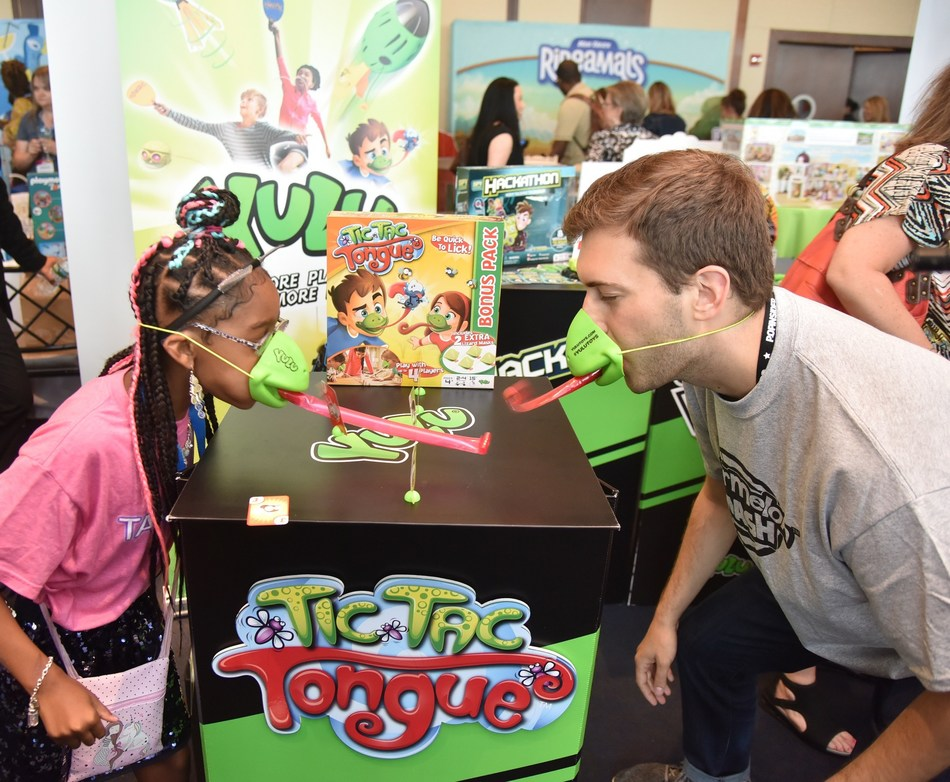 Attendees of The Toy Insider's annual Sweet Suite toy showcase event have a blast while they discover the hottest new items from top toy companies. This year's Sweet Suite will take place on Wednesday, July 24th in New York City.
