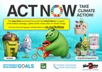 The United Nations and Talent from 'The Angry Birds Movie 2' join forces on the ActNow Campaign to urge citizen action on climate change