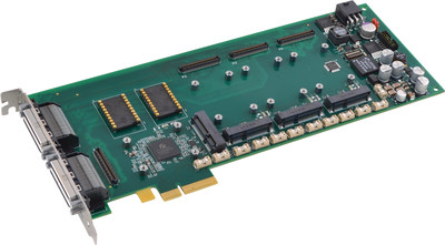 Shown: APCe7043 3/4-length PCIe carrier card for AcroPack I/O modules