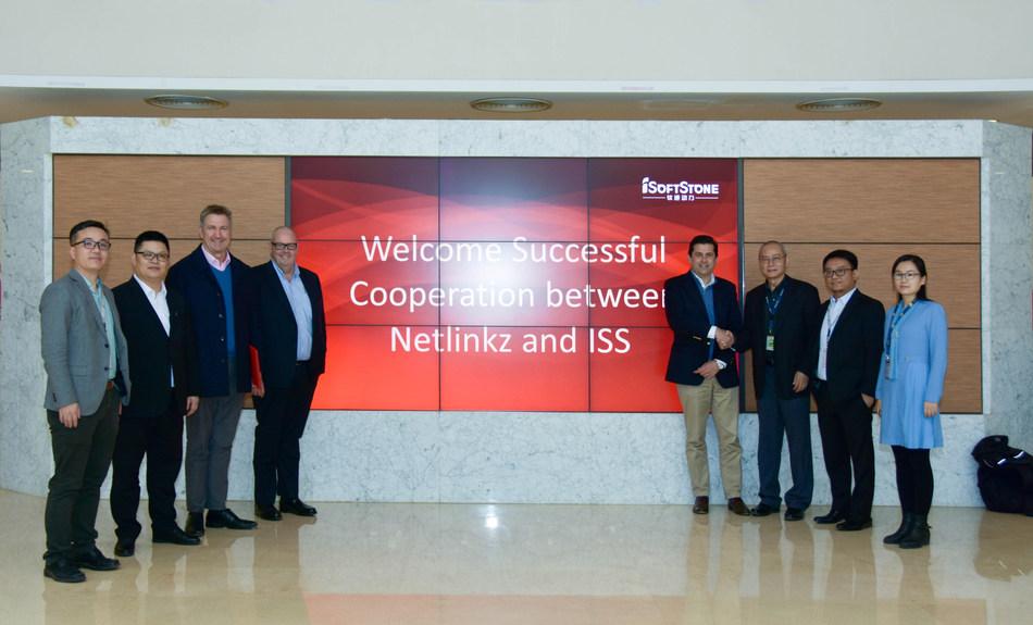 NetLinkz and iSoftStone establishing a Joint Venture, ISoftStone Head Office Beijing, China