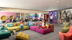 Following a 360-degree transformation, the dedicated teens spaces on board the amplified Allure of the Seas will be where teens have the freedom to choose how they spend their time. The exclusive lounge will feature a secret speakeasy-like entrance, gaming consoles, music, movies, places to hang out and a new outdoor deck.