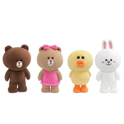 GUND Introduces New Collection of LINE FRIENDS Plush (CNW Group/Spin Master)