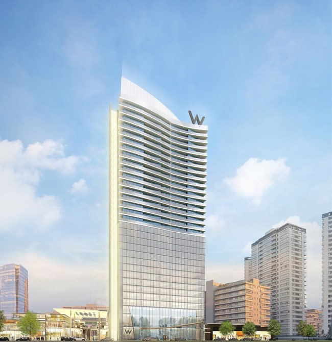Artist's rendering of W Buenos Aires, courtesy of GNV Group.