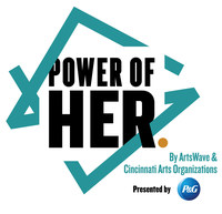 Cincinnati arts organizations have formed an unprecedented collaboration to celebrate the centennial of women's suffrage and the ratification of the 19th amendment granting women the right to vote. Called the POWER OF HER presented by Procter & Gamble, the 18-month initiative salutes women and honors female leadership with hundreds of woman-centric arts events and performances drawn from women's voices and their influence. Led by ArtsWave, POWER OF HER runs through December, 2020.