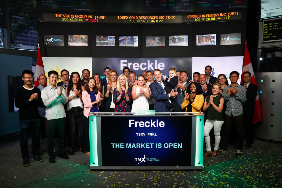 Freckle Ltd. Opens the Market (CNW Group/TMX Group Limited)