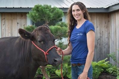 Mélissa Daigle, Ferme Kobec (Groupe CNW/La Financière agricole du Québec)