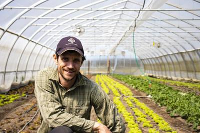 François Biron, Ferme Chapeau Melon (Groupe CNW/La Financière agricole du Québec)