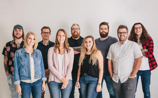 The Drifting Creatives Team. Cody Robinson, Lauren Stewart, Gavin Braman, Suzy Nazimek, Martin Hooper, Bailey Karisch, Nick Bradshaw, Wade Honeycutt, and Spencer Cogburn
