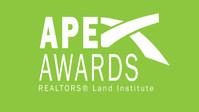 REALTOR'S Land Institute Apex Awards