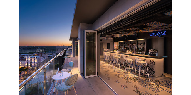 Guests can take in the city's spectacular panoramic views from the hotel's rooftop Splash pool and W XYZ® bar