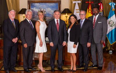Dionisio Gutiérrez recibió a altos exfuncionarios del gobierno de Estados Unidos