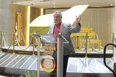 Jim Allen, Chairman of Hard Rock International and CEO of Seminole Gaming