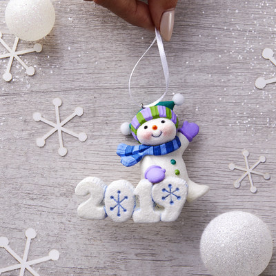 Hallmark Keepsake Ornament collectors remember their year with special ornaments such as the Frosty Fun Decade series.