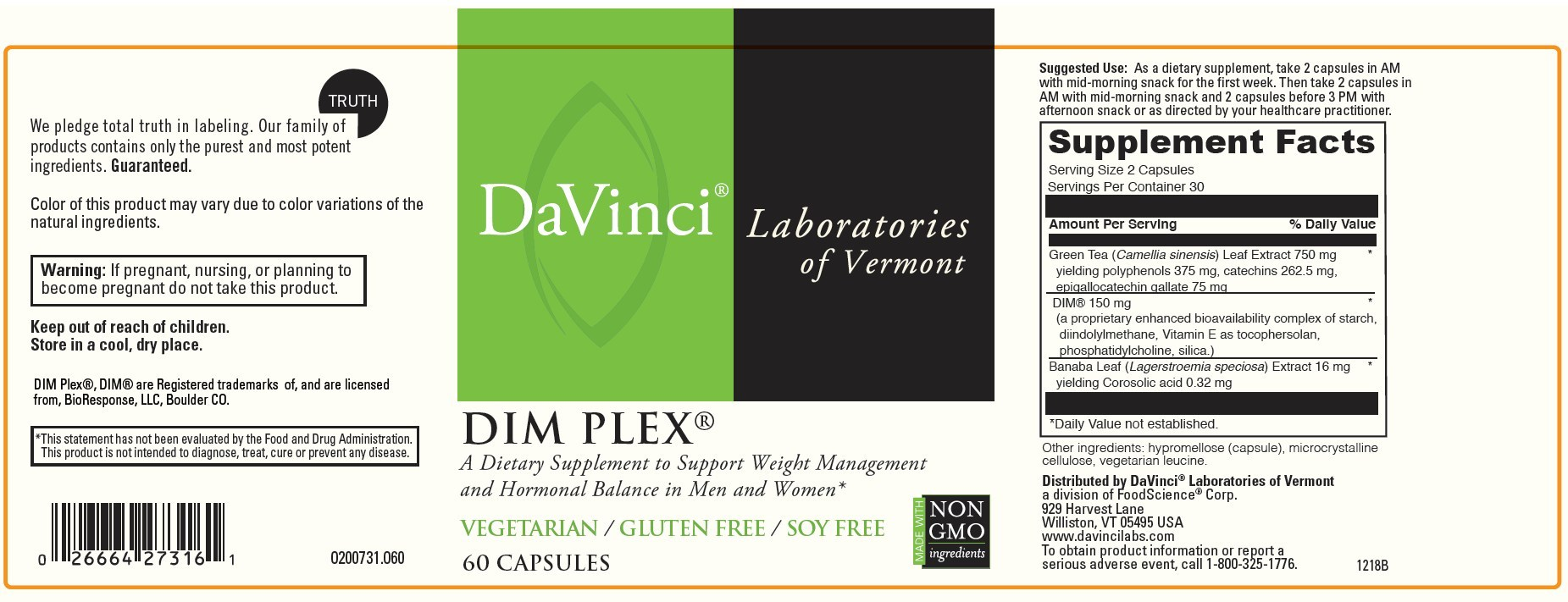 DaVinci Laboratories Issues Allergy Alert On Undeclared Fish