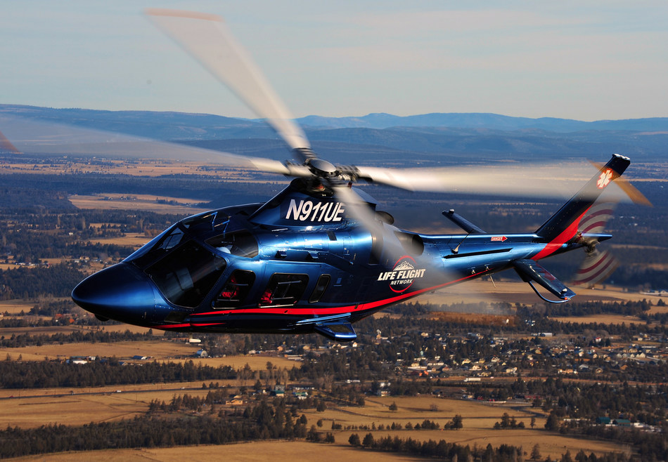 Life Flight Network will station a helicopter equipped to act as a mobile intensive care unit, like the one pictured here, at its Whidbey Island base.