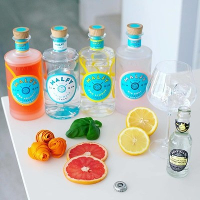 MALFY Gin range (CNW Group/Corby Spirit and Wine Communications)