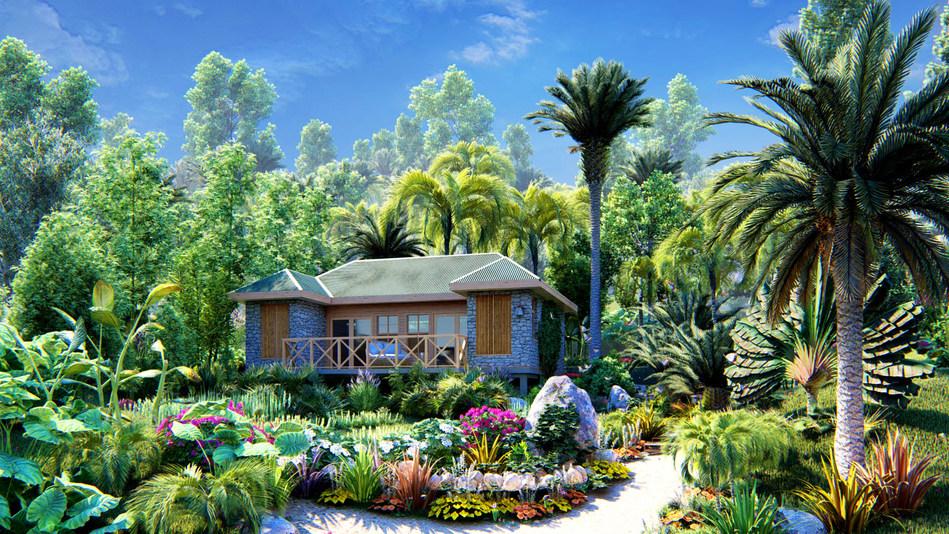 Popular Dominica 'Jungle Bay Eco Villas' relocated after Storm Erika destroyed the beloved resort in 2015 - junglebayvillasinvestment.com (PRNewsfoto/CS Global Partners)