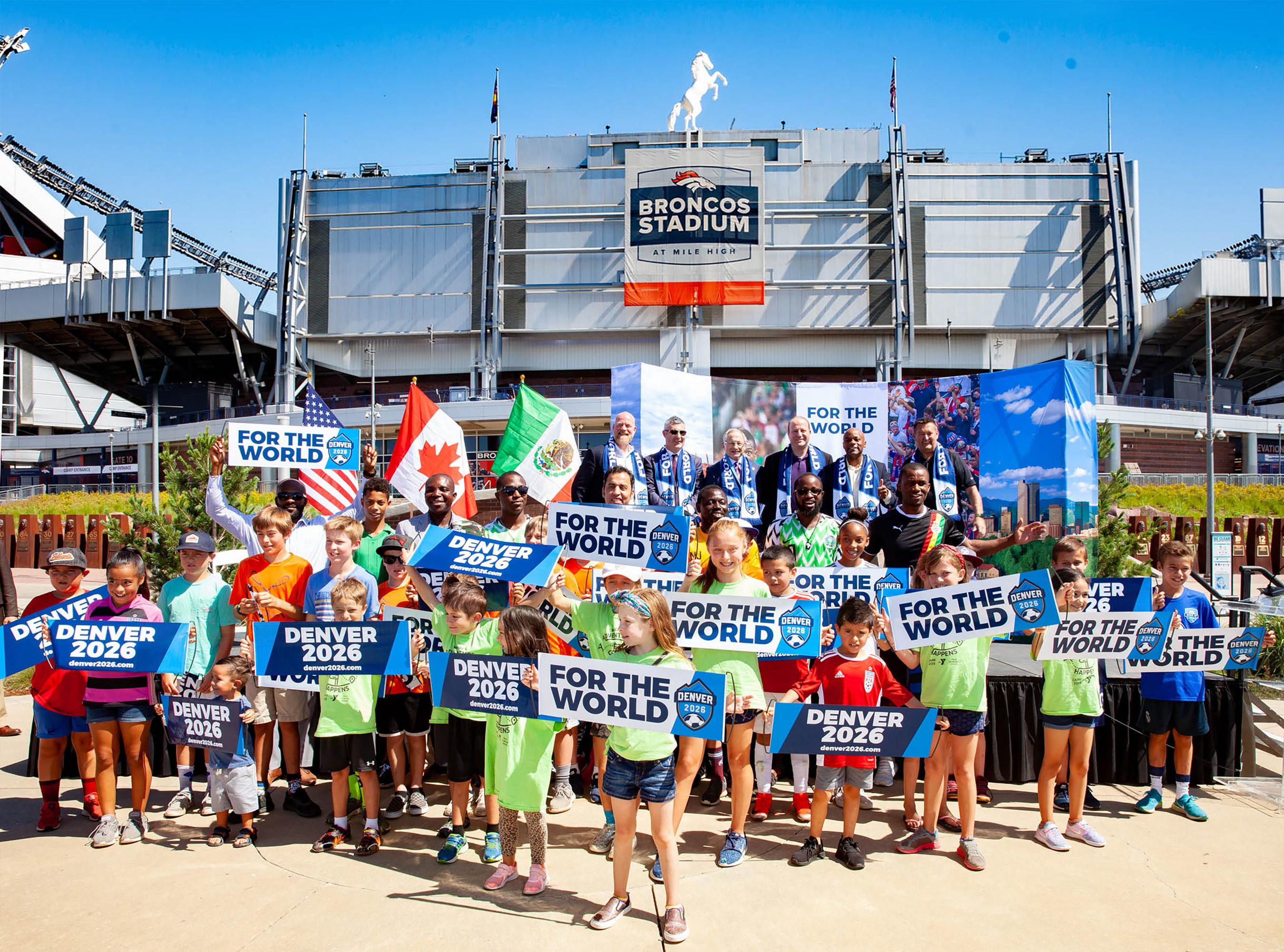 Gob. Polis, Alcalde Hancock y las Comunidades Futboleras de Colorado Lanzan Iniciativa para Confirmar a Denver como Sede de Partidos de la Copa Mundial Masculina de FIFA 2026