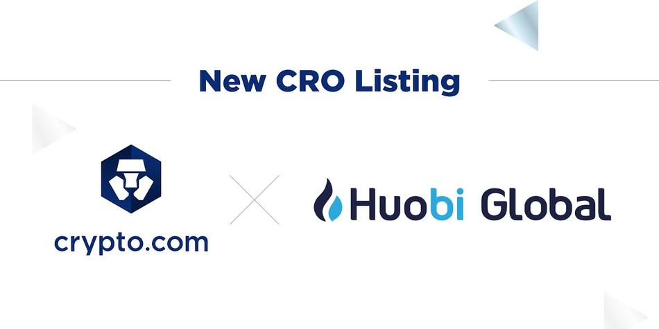 Crypto.com's CRO Token Listed on Huobi Global