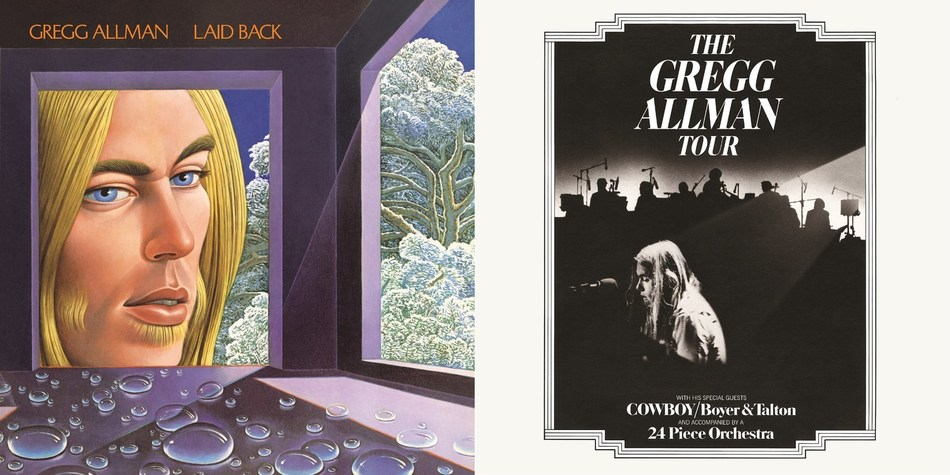 """Gregg Allman's masterful debut solo album """"Laid Back"""" is being remastered and expanded for a Deluxe Edition that will include more than two dozen bonus tracks. The singer's iconic live album """"The Gregg Allman Tour"""" is also being reissued on vinyl for the first time in three decades."""