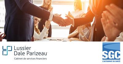 Lussier Dale Parizeau est heureux d'annoncer l'acquisition de Samson Groupe Conseil, un partenaire de choix en actuariat et une « Entreprise en santé » (Groupe CNW/Lussier Dale Parizeau Inc.)