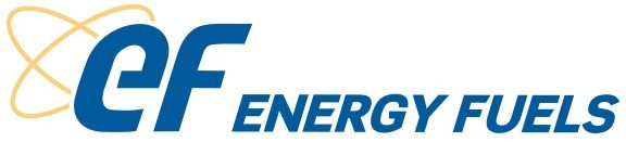 Energy Fuels Inc. logo (PRNewsfoto/Energy Fuels Inc.,Ur-Energy Inc.)