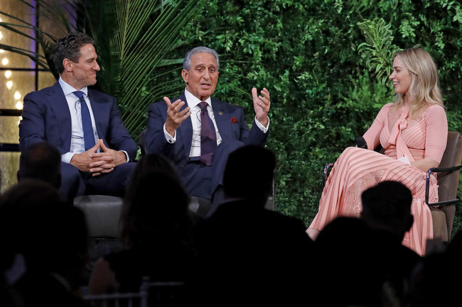 Celebrity Fitness Trainer, Don Saladino, Co-Founder of Home Depot and Owner of Atlanta Falcons, Arthur M. Blank, and actress and AIS board member, Emily Blunt