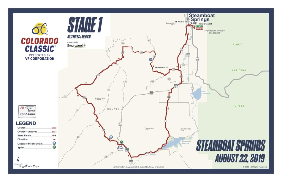 Stage 1 - Steamboat Springs presented by Smartwool - August 22
