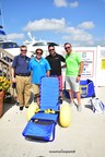 Special Needs Group Donates a $2,000 Joy on the Beach (JoB) Wheelchair and Wheeled Carry Bag to Dive4Vets Organization at Hall of Fame Marina's National Marina Day Celebration