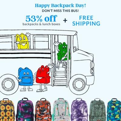 Lands' End Backpack Day July 16th!