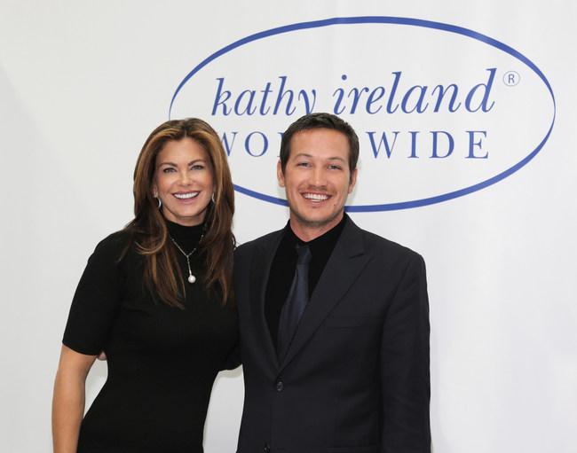 Kathy Ireland and Tommy Meharey (PRNewsfoto/Darkstar Ventures Inc.,Samsara )