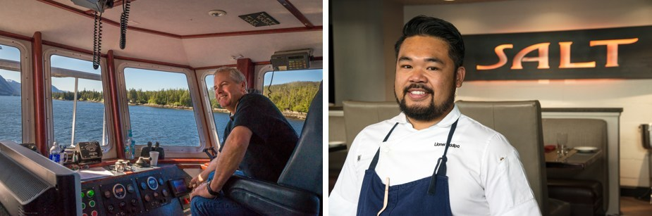 Princess Cruises announces Local Connections: Alaska featuring local experts like David Lethin and Chef Lionel Uddipa (Pictured left to right)