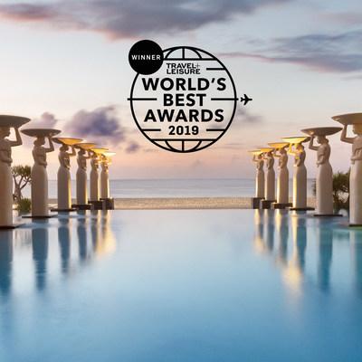 Los lectores de Travel + Leisure nombran a Mulia Bali Mejor Complejo Hotelero de Indonesia en los premios World's Best