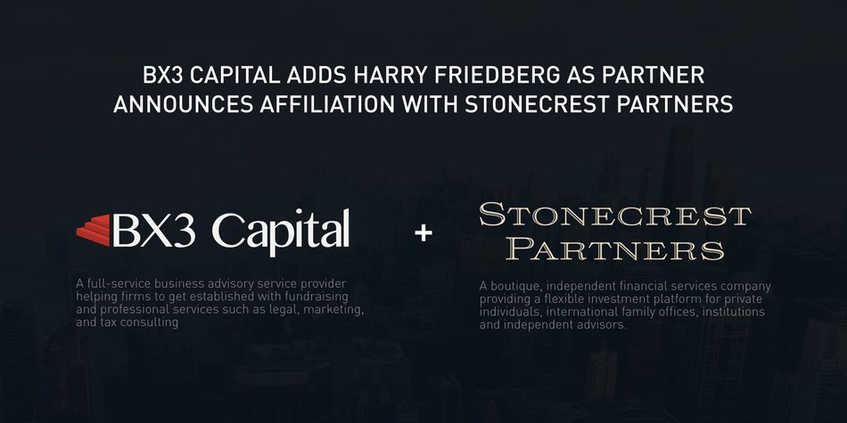 BX3 Capital joins forces with Stonecrest Partners. Securities offered through Stonecrest Capital Markets, Inc. Investment advisory services offered through Stonecrest Advisors, Inc.