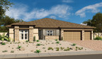 The ranch-style Robert plan at Scots Pine in Summerlin offers abundant curb appeal.