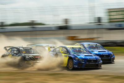 Subaru Takes Double Victory at ARX Rallycross of Gateway