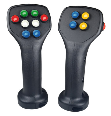 The G3-C Universal Contour Grip offers 13 standard faceplate configurations.