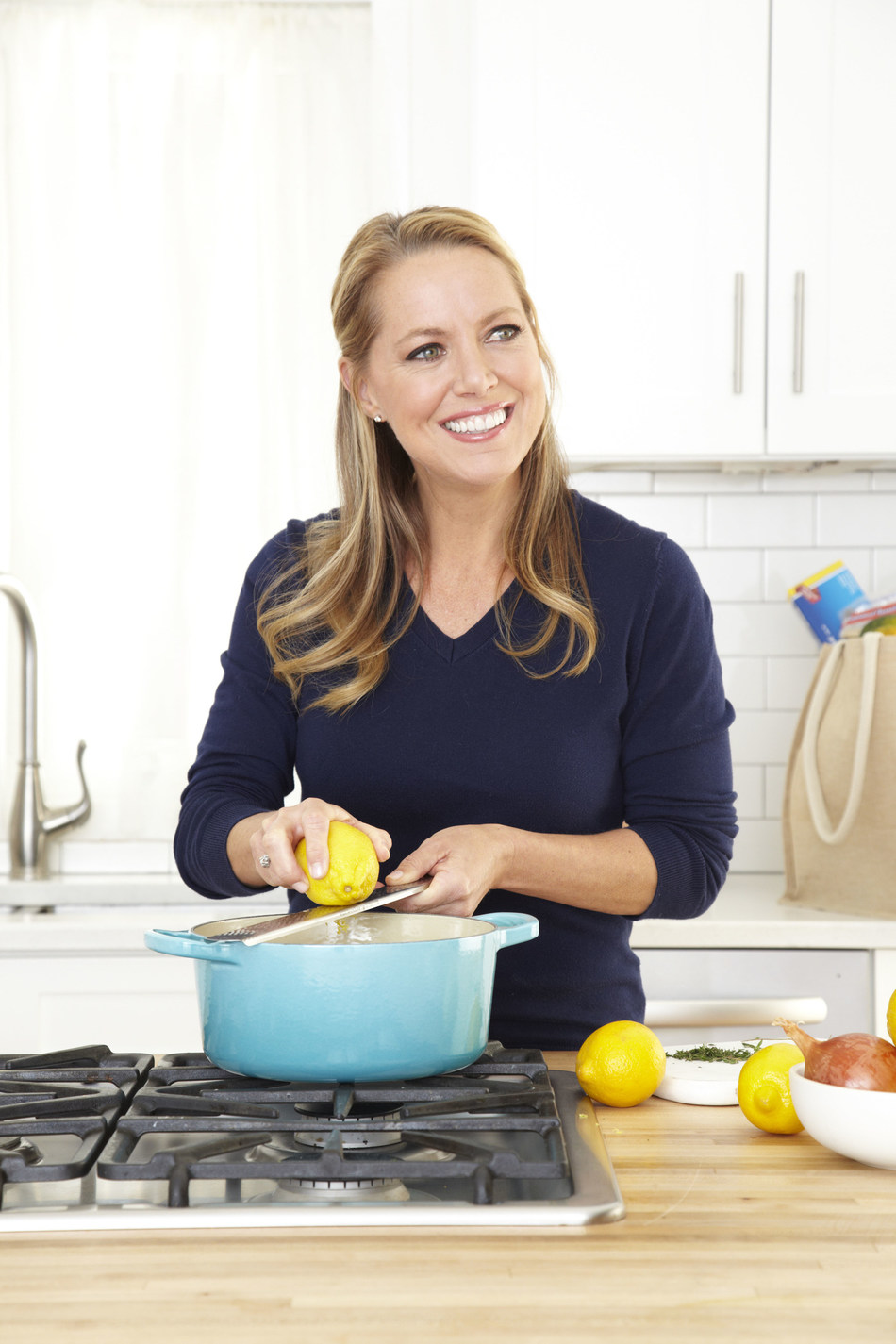 Melissa d'Arabian of  San Diego is a celebrity chef and television host, best-selling author and mom of four. She's also an expert on elegant, affordable home cooking.