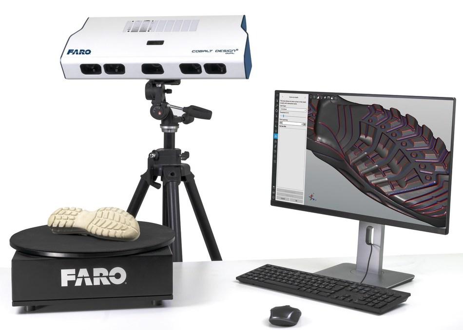 Los nuevos FARO Cobalt Design Structured Light Scanners capturan de forma realista imágenes de escaneado texturizadas en color de alta calidad.