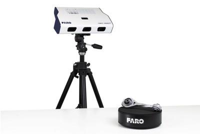 La plataforma giratoria de escaneo automatizada de 360 grados hace girar automáticamente el objeto de escaneo para obtener una cobertura total y eficiente.